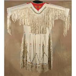 Crow Woman's Dress, circa 1890