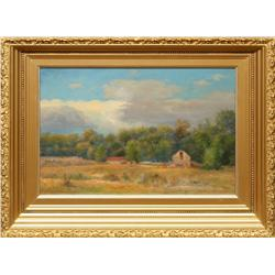 Ralph Earl DeCamp, oil on canvas