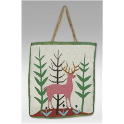 Plateau Elk Dreamer's Society Beaded Bag