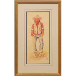 J.J. Meany, watercolor