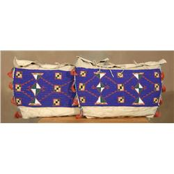 Pair of Sioux Possible Bags, 19th century
