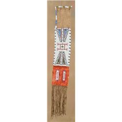 Sioux Beaded and Quilled Pipebag, circa 1890s