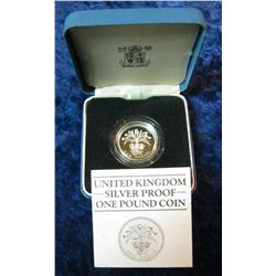 565. 1984 United Kingdom Proof Sterling Silver Pound.