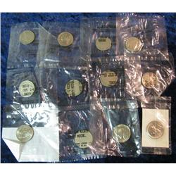 567. (12) Old U.S. Nickels in Littleton Coin Co. packages.