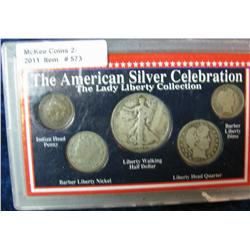 573. The American Legacy Silver Celebration  Lady Liberty