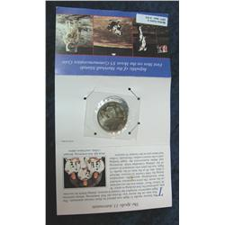 575. 1969-1989 First Men on the Moon Marshall Islands $5
