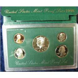 578. 1998 S U.S. Proof Set. Original as issued.