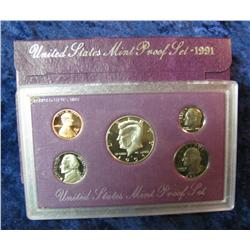 579. 1991 S U.S. Proof Set. Original as issued.