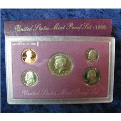 580. 1989 S U.S. Proof Set. Original as issued.