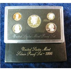 581. 1996 S Silver U.S. Proof Set. Original as issued.
