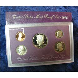 583. 1988 S U.S. Proof Set. Original as issued.