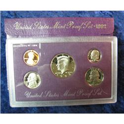 584. 1992 S U.S. Proof Set. Original as issued.