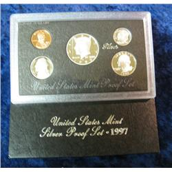 585. 1997 S Silver U.S. Proof Set. Original as issued.