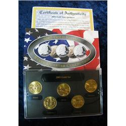 590. 2003 Gold Edition State Quarter Collection in original box.