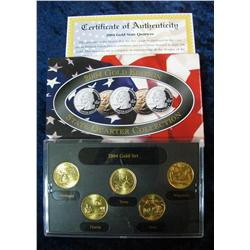591. 2004 Gold Edition State Quarter Collection in original box.