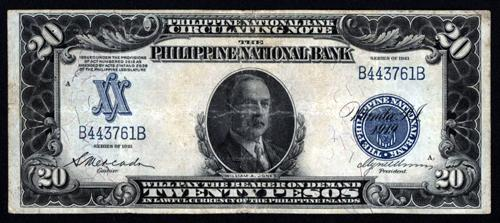 Philippine National Bank Circulating Note