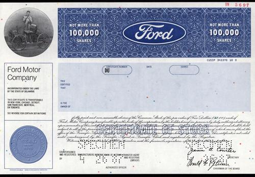 Michigan Ford Motor Co