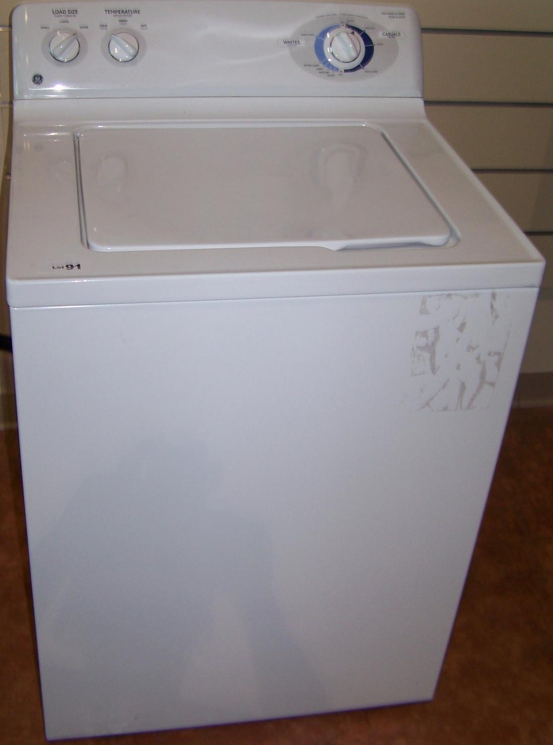 how to clean ge washing machine