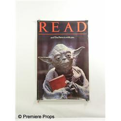 YODA READING AWARENESS Poster
