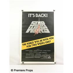 STAR WARS - Re-Release Poster