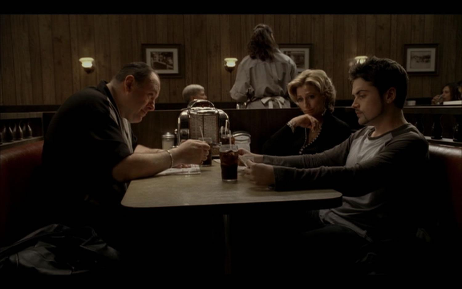 James Gandolfini Fans Visit The Diner Where The Sopranos Series Finale Was Shot