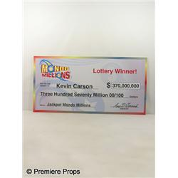 LOTTERY TICKET - Kevin Carson (Bow Wow) Lottery Check
