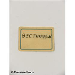 "INGLORIOUS BASTERDS  - ""Beethoven"" Playing Card"