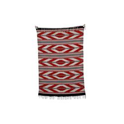 "Large Navajo Rug Reds, browns, and creams, measures 94""x63""Reds, browns, and creams, measures 94""x63"