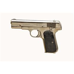Colt Mdl 1903 Pocket Cal .32rimless SN:169744 Nice example of 1903 Pocket pistol. Renickel finish, b