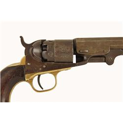 Colt Pocket Navy Cal 36 Percussion SN:1183 This desirable Pocket Navy shows the scarce 6 1/2  barrel