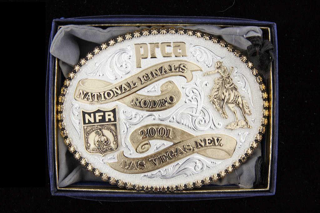 Prca 2001 National Finals Rodeo Belt Buckle Made By