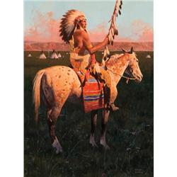 Mann, David - Land of the Sioux (b. 1948)