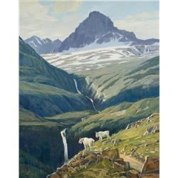 Elliott, Steven - Summer in Glacier (b. 1943)