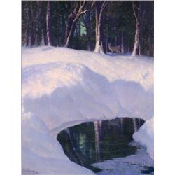 Woolsey, Carl - Winter Scene (1902-1965)
