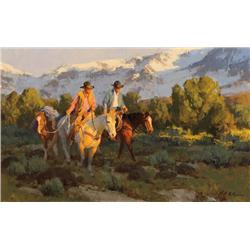 Anton, Bill - Packing the San Juans (b. 1957)
