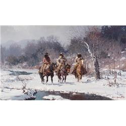 Warren, Melvin - Cold Day on the North Bosque (1920-1995)