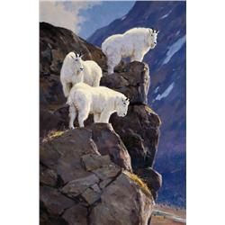 Carlson, Ken - High Point-Mountain Goats (b. 1937)