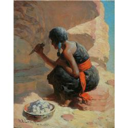 Leigh, WR - Getting Clay for Pottery (1866-1955)