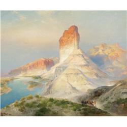 Moran, Thomas - Indian Summer, Green River, WY (1837-1926)