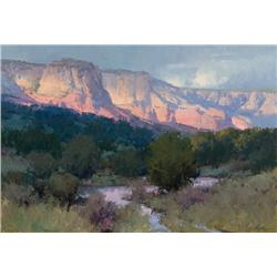 Anton, Bill - Canyon Twilight (b. 1957)
