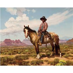 McGrew, R. Brownell - Charlie Salt, Mounted (1916-1994)
