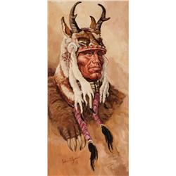 Clymer, John - Horned Chief (1907-1989)