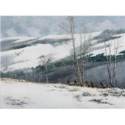 Monroe, Lanford - First Storm Elk (1950-2000)