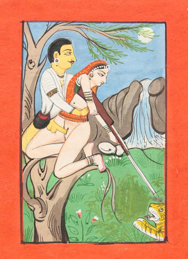 East Indian Erotic Miniature Paintings. Currency:USD Category:Antiques Start ...