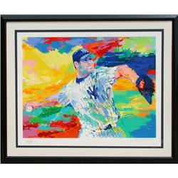 LeRoy Neiman, The Rocket : Roger Clemens, Serigraph