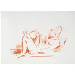 Jan De Ruth, The Nude IV, Lithograph