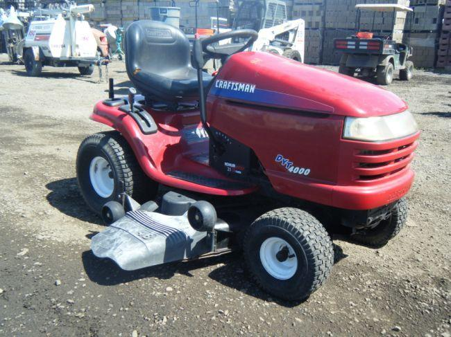Dyt 4000 Engine : Craftsman dyt quot ride on lawn mower