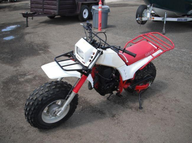 1985 yamaha bw200 mini dirt bike for Yamaha mini dirt bikes