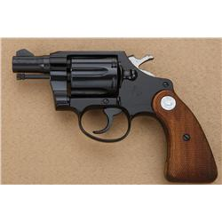 "Colt Cobra Model lightweight DA revolver, .38  Special cal., 2"" barrel, black finish,  checkered Col"