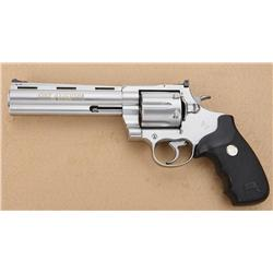 Colt Anaconda Model DA revolver with factory  blue plastic carry case and instruction, .44  Magnum c